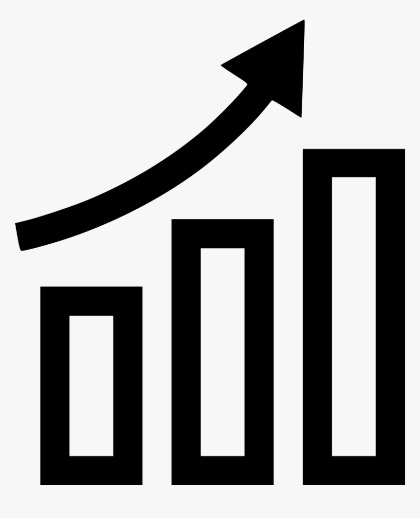 Growing Icon In White , Png Download, Transparent Png, Free Download