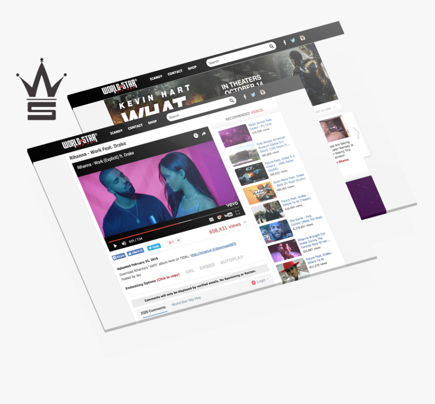 Worldstarhiphop Submission, HD Png Download, Free Download