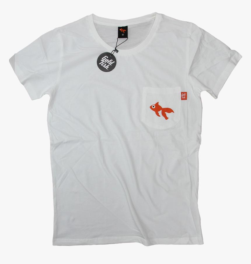 Goldfish Pocket T-shirt, HD Png Download, Free Download