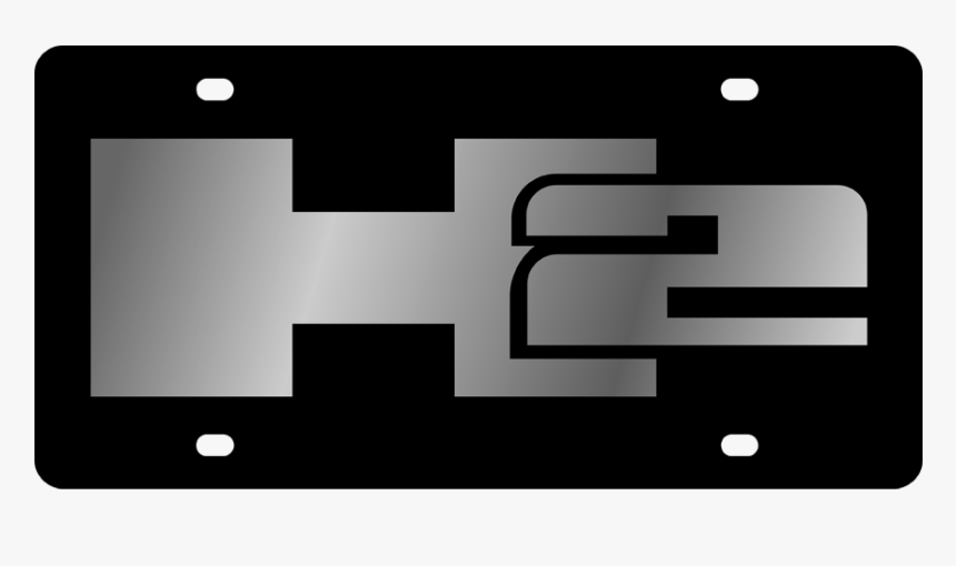 Hummer - Css Plate - H2 Logo, HD Png Download, Free Download