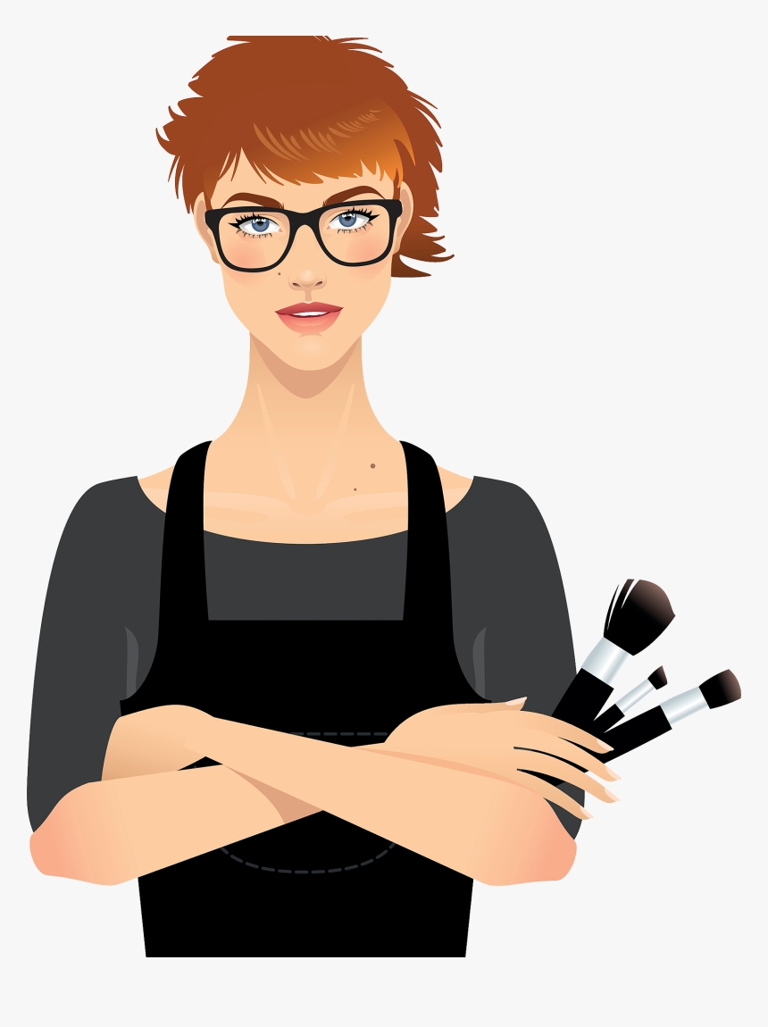 Make Up Artist Cosmetics Beauty Parlour Clip Ⓒ, HD Png Download, Free Download