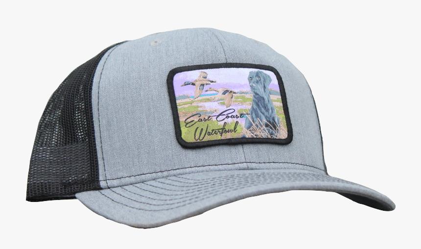 Black Lab Hunting Dog Snapback Trucker Hat, HD Png Download, Free Download