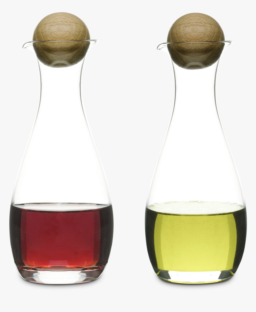 Nature Oil Vinegar Bottles With Oak Stopper, HD Png Download, Free Download