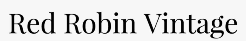 Red Robin Logo Png, Transparent Png, Free Download