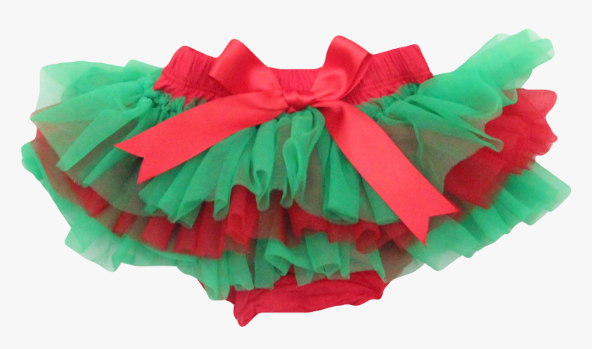 Red And Green Christmas Tutu Bloomer, HD Png Download, Free Download