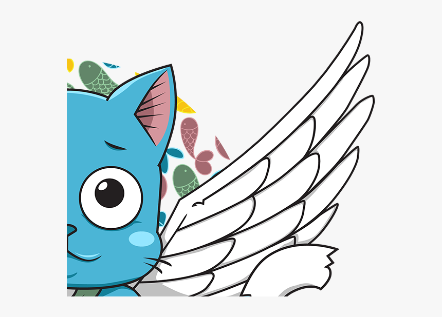 Fairy Tail Happy Png, Transparent Png, Free Download