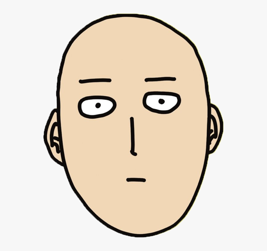 One Punch Man By One Punch Man Face Transparent Hd Png Download Kindpng