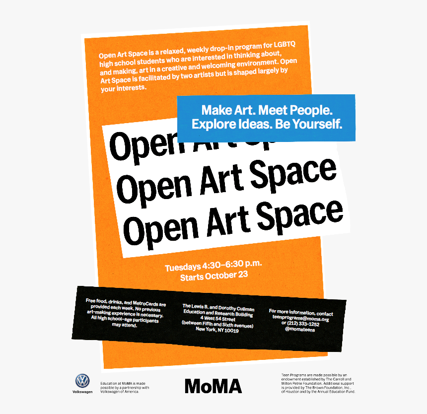 Express Yourself And Your Ideas Through Art At The - Open Office, HD Png Download, Free Download