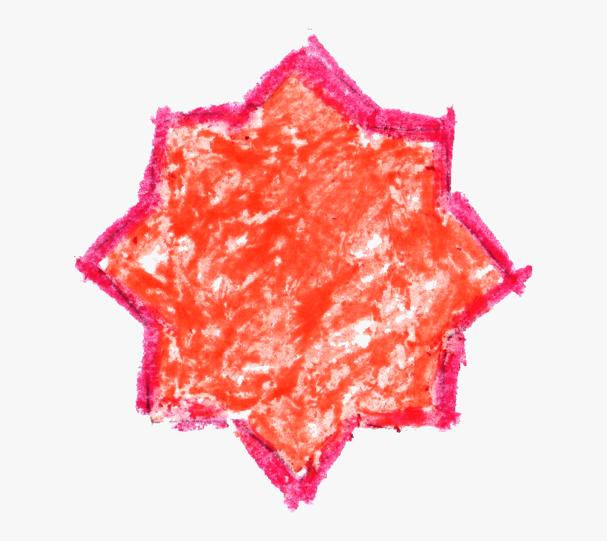 Transparent Star Drawing Png - Crayon Drawing Png Star, Png Download, Free Download