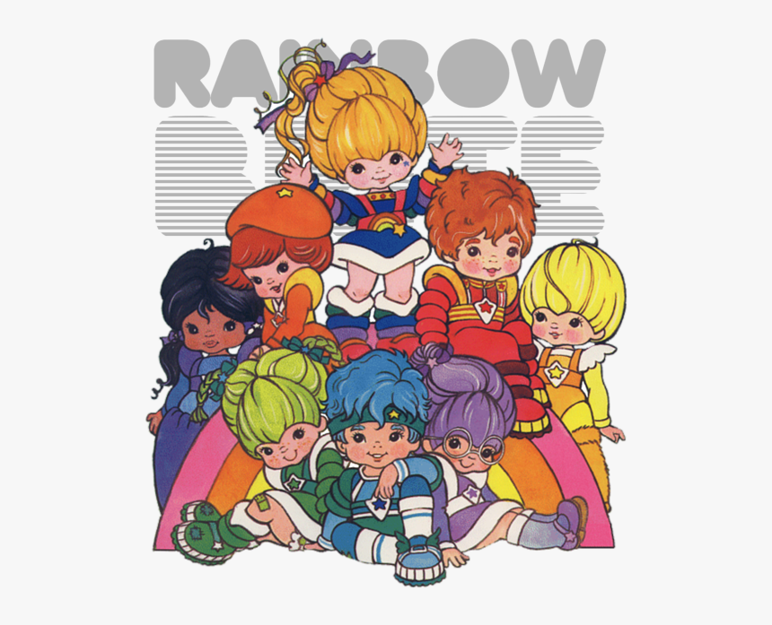Rainbow Brite Color Kids, HD Png Download, Free Download