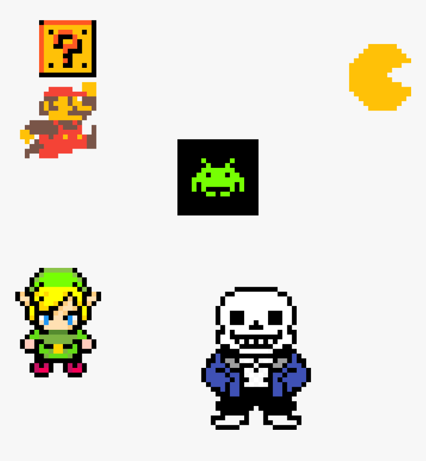 A Couple Video Game Characters , Png Download - Super Smash Bros Ultimate Sans, Transparent Png, Free Download