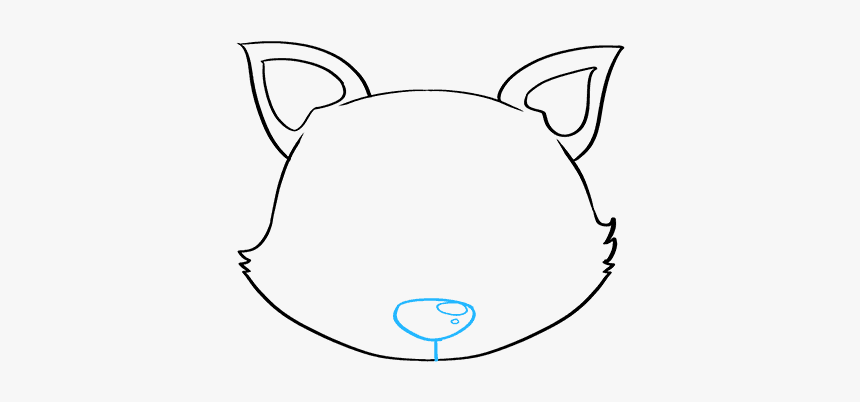 How To Draw Baby Fox - Step By Step How To Draw A Baby Fox, HD Png Download, Free Download