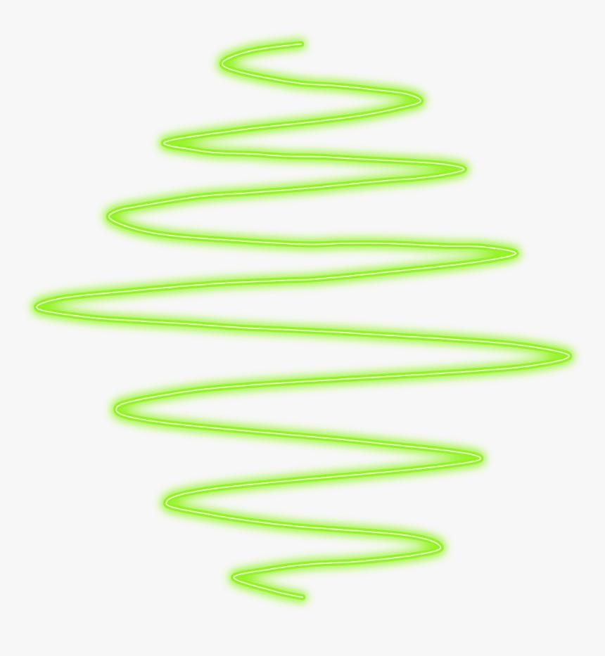 #neon #line#spiral #lines #spirals #green #freetoedit - Amarillo Neon, HD Png Download, Free Download