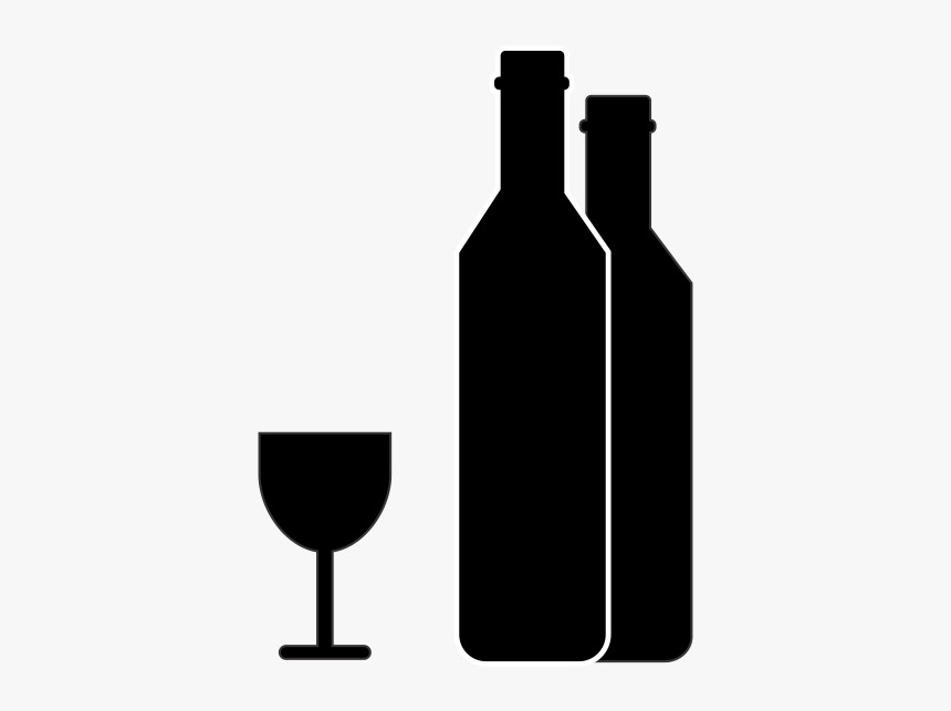 Wine Bottle Icon Png, Transparent Png, Free Download