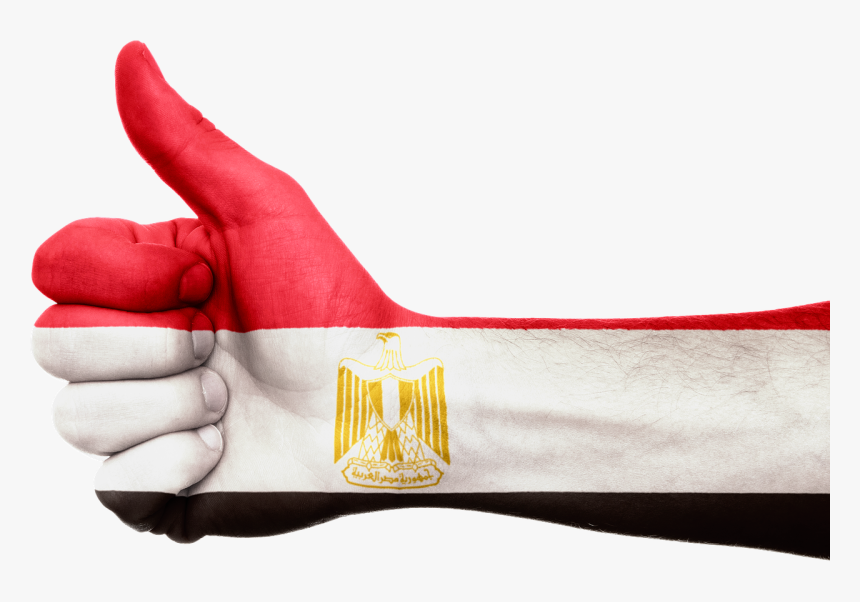 Egypt Flag Hand Png, Transparent Png, Free Download