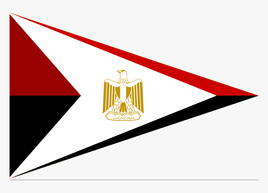 Egypt Flag Triangle, HD Png Download, Free Download