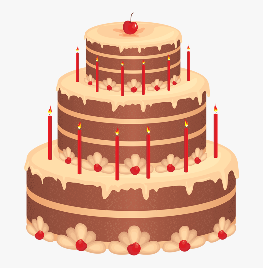 Transparent Birthday Cake Clipart Png - Clipart Png Birthday Cake, Png Download, Free Download