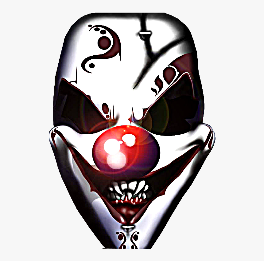 Evil Clown Png - Scary Clown Face Png, Transparent Png, Free Download