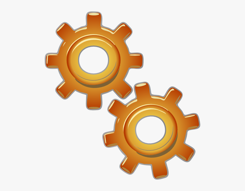 Transparent Gear Vector Png - Engines Clipart, Png Download, Free Download