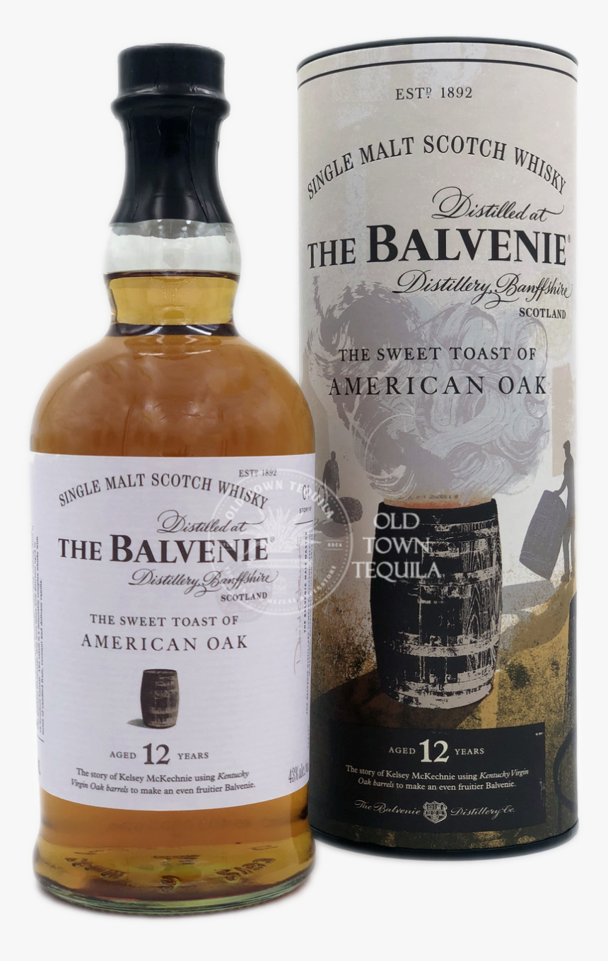 The Balvenie The Sweet Toast Of American Oak 12 Years - Balvenie Sweet Toast Of American Oak, HD Png Download, Free Download