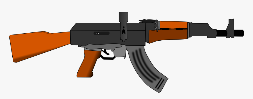 Ak47 Gun - Ak 47 Clipart, HD Png Download, Free Download