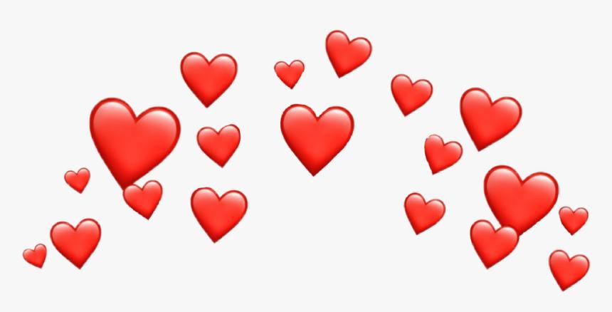 Red Heart Png Snapchat - Transparent Background Heart Emoji Png, Png Download, Free Download
