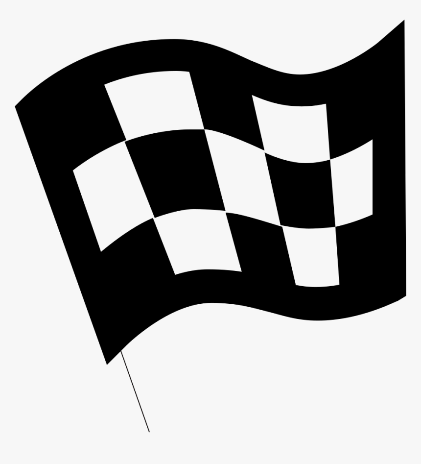 Finish Flag - Finish Flag Icon Png, Transparent Png, Free Download