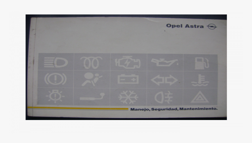 Opel Astra F Manual, HD Png Download, Free Download