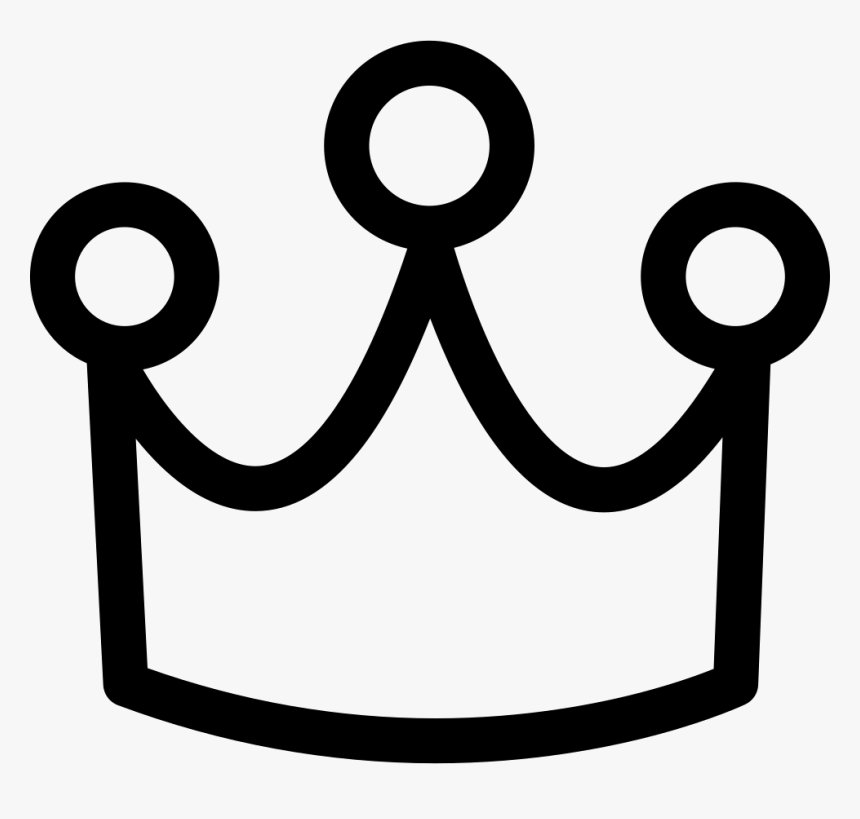 Font Crown - Corona Icons Transparent Background, HD Png Download, Free Download