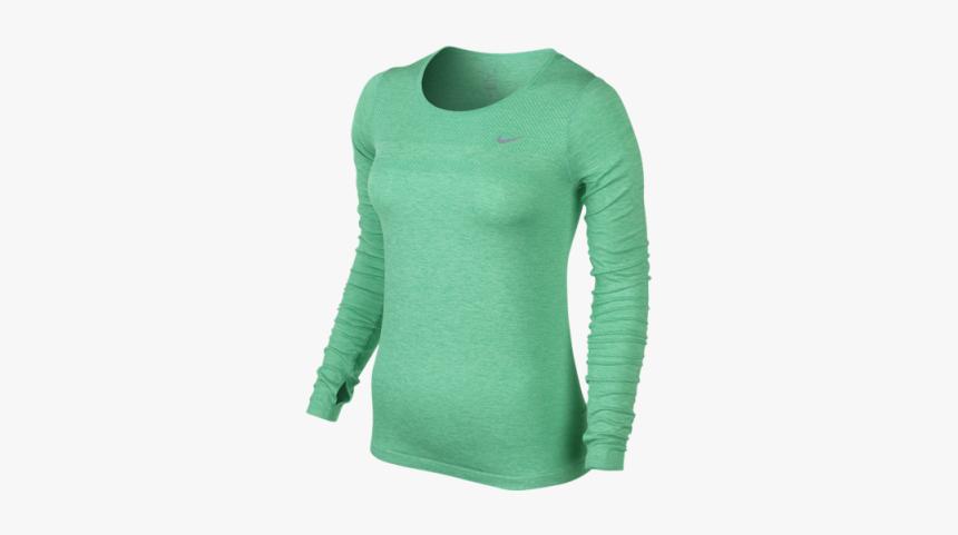 Nike Blue Long Sleeve Women's, HD Png Download, Free Download