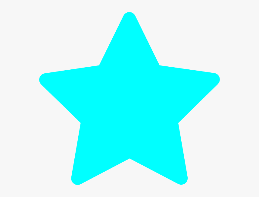 Light Blue Star Clipart, HD Png Download, Free Download
