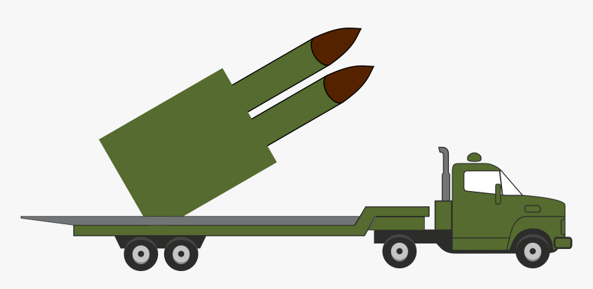 Missile Truck Clip Arts - Missile, HD Png Download, Free Download