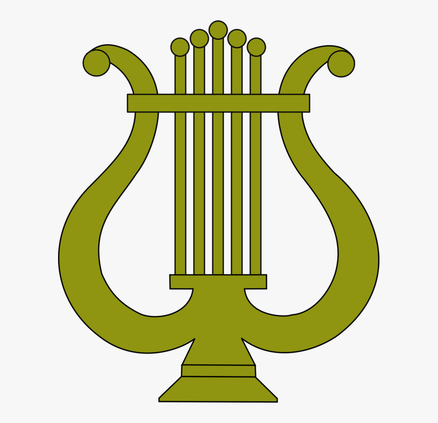 Plant,leaf,area - Lyre Clipart, HD Png Download, Free Download