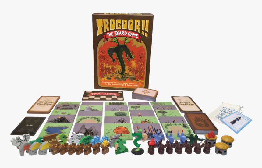 Trogdor The Board Game - Trogdor Board Game, HD Png Download, Free Download