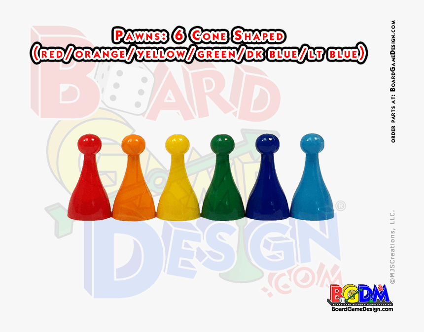 Pawns - Board Game With Cone Shaped Pieces, HD Png Download, Free Download
