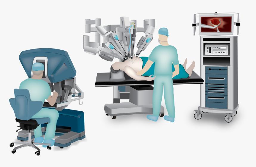 Robotic Heart Surgery - Robotic Surgery Png, Transparent Png, Free Download