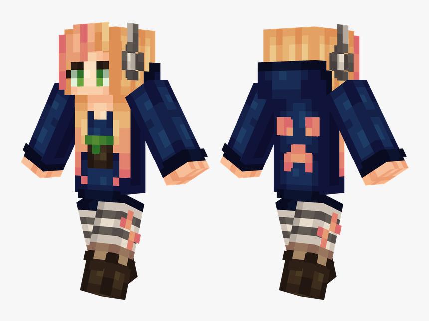 Minecraft Skins Blue Eyes, HD Png Download, Free Download