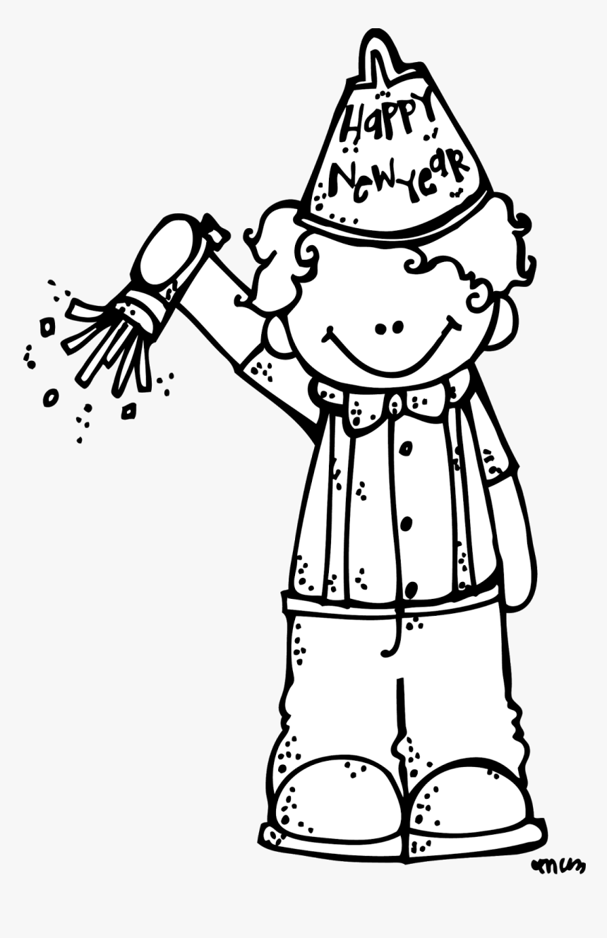 Transparent New Year Clipart Black And White - New Year Interview Preschool, HD Png Download, Free Download