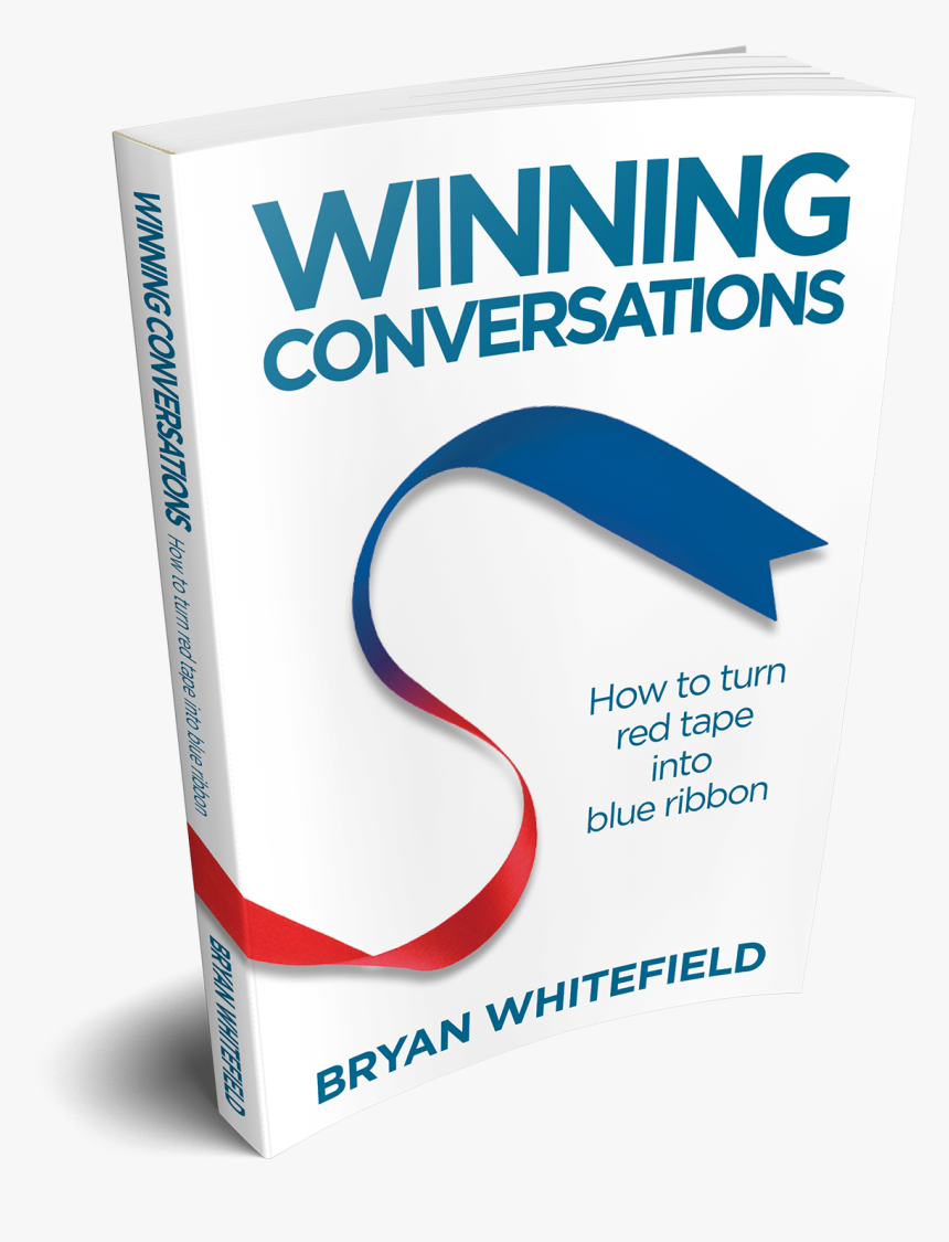 How To Turn Red Tape Into Blue Ribbon - Winning Conversation Bryan Whitefield, HD Png Download, Free Download