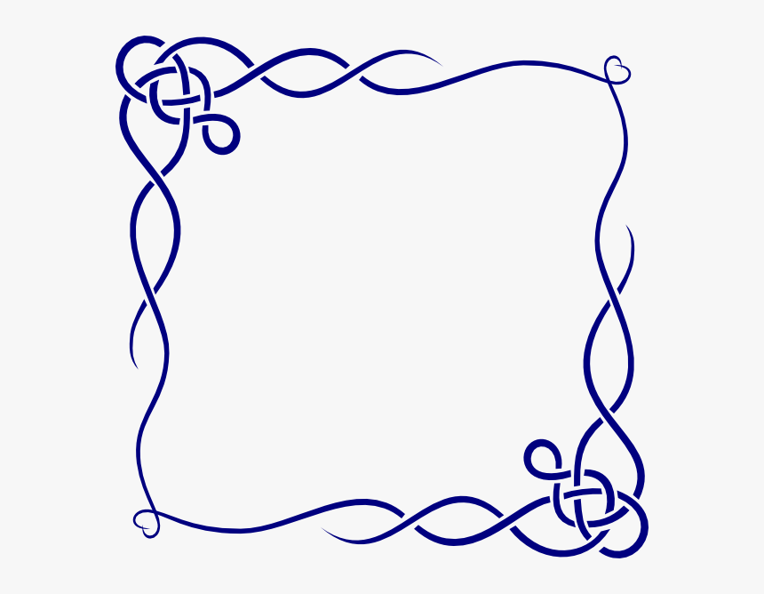 Valentines Day Borders Png, Transparent Png, Free Download