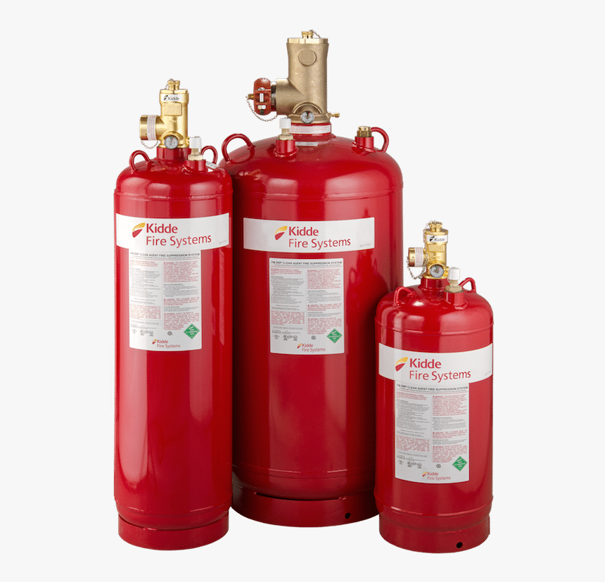 Photo Of Kidde Fm200 Fire Suppression System Tanks - Kidde Fire Systems Fm 200, HD Png Download, Free Download