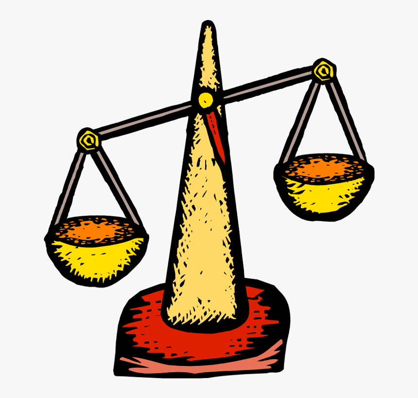 Balance Scale Clipart Clip Art Improvised Weighing Scale Hd Png Download Kindpng