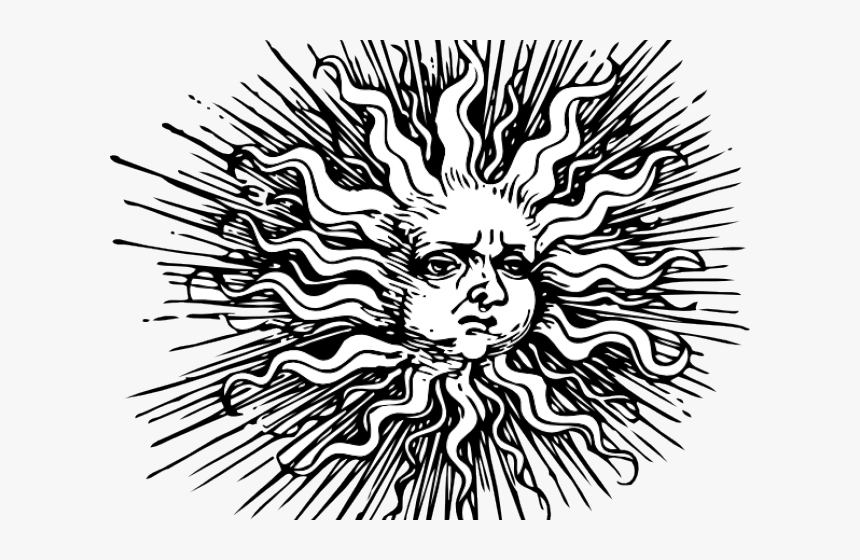 Transparent Sun Block Clipart Black And White Medieval Hd Png
