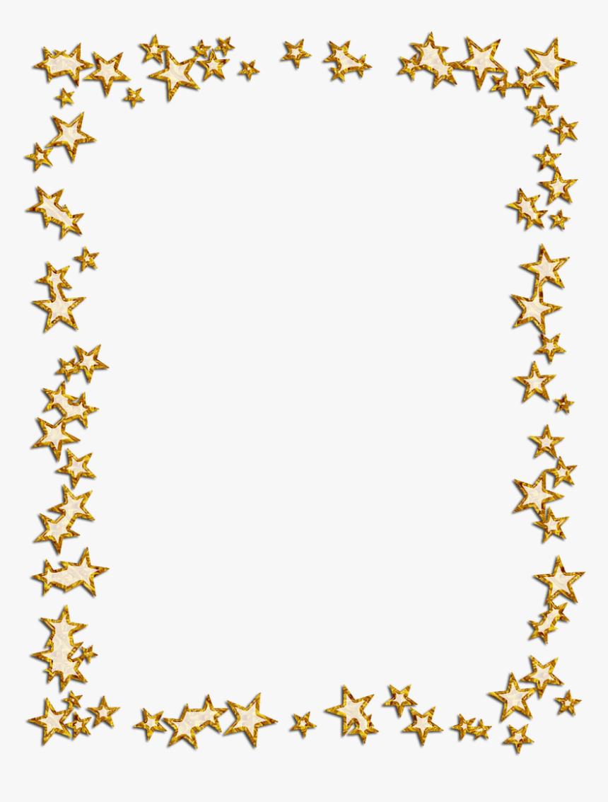 Star Border Png - Gold Star Border Png, Transparent Png, Free Download
