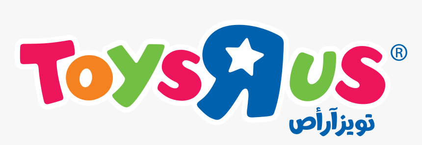 """The Official Toys""""r""""us Site In Saudi Arabia - Toys R Us Saudi Logo, HD Png Download, Free Download"""