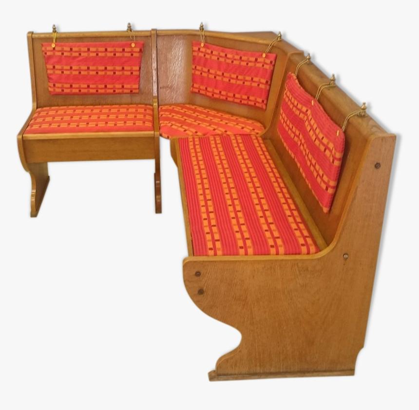 "Vintage Corner Seat""  Src=""https - Banquette En Bois Angle, HD Png Download, Free Download"