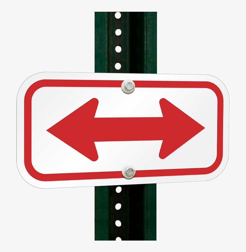 Transparent Two Way Arrow Png Red Double Arrow Sign Png Download Kindpng
