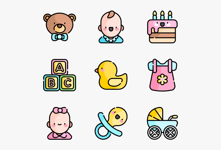 Baby Shower Baby Boy Icon Hd Png Download Kindpng