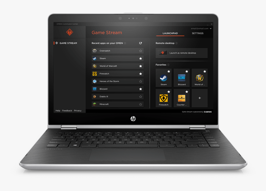 Launchpad - Hp Pavilion X360 14 Ba175nr, HD Png Download, Free Download