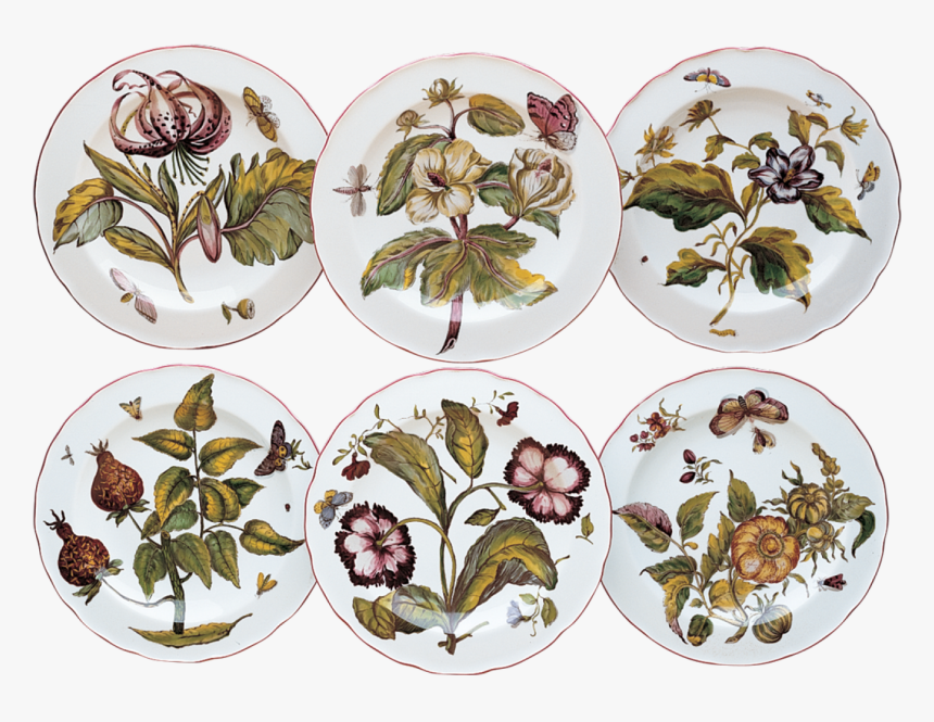 Chelsea Botanical Dinner Set Of - Mottahedeh Chelsea Botanical, HD Png Download, Free Download